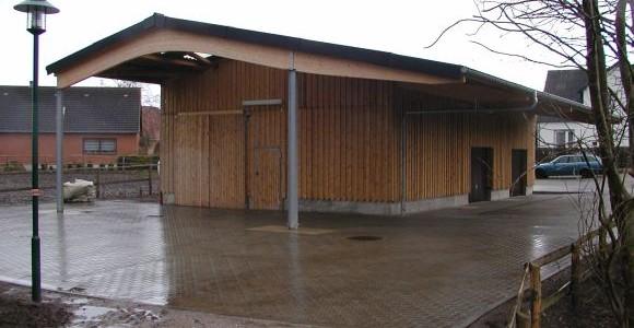 Conrads Halle Typ LB mit Vordach