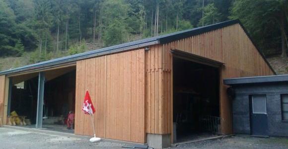 Conrads Halle mit Schiebetoranlage