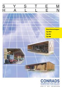 Conrads Maschinenschuppen Prospekt Cover