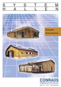 conrads Pferdeställe Prospekt Cover