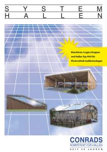 Conrads Photovoltaik Prospekt Cover